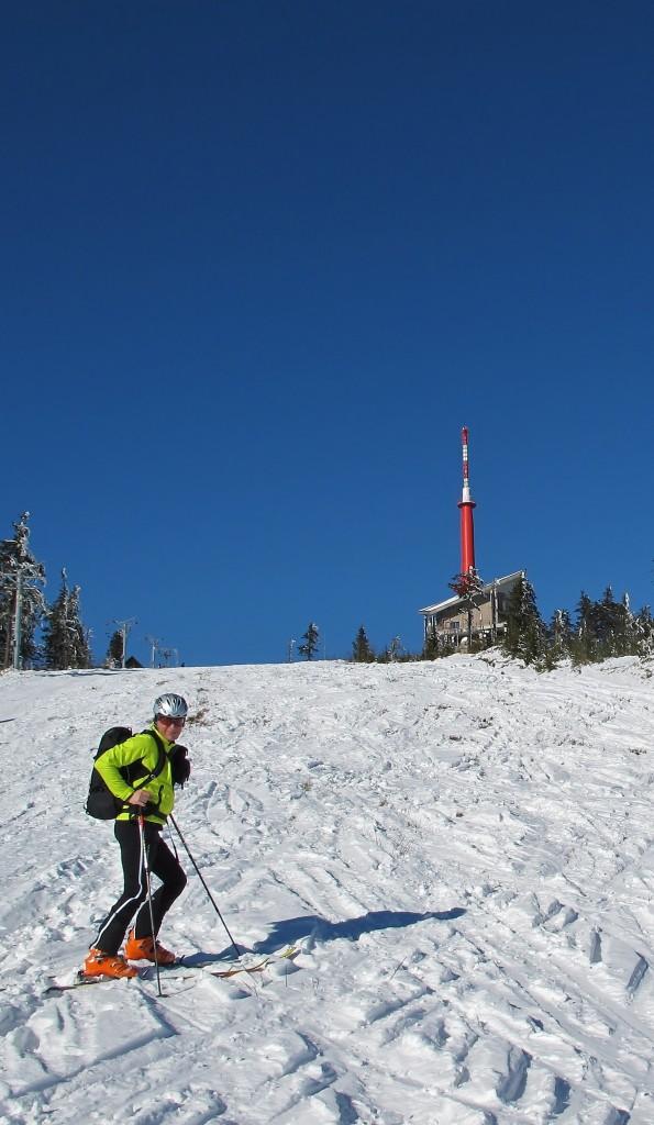 Milovníci skialpu tu horu prostě milují.