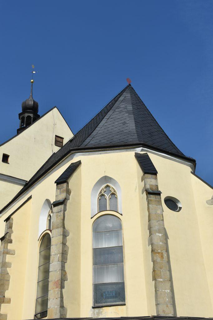 Kostel v Odrách