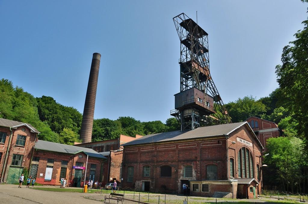 Bývalý Důl Anselm, dnes hornické muzeum.