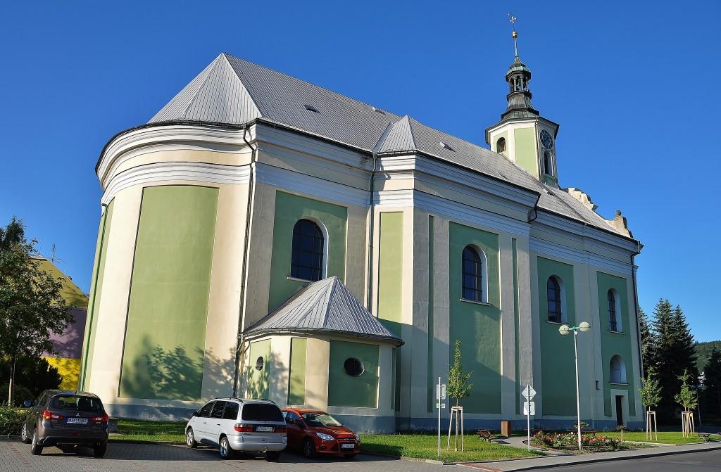 kostel v Městě Linhartovy