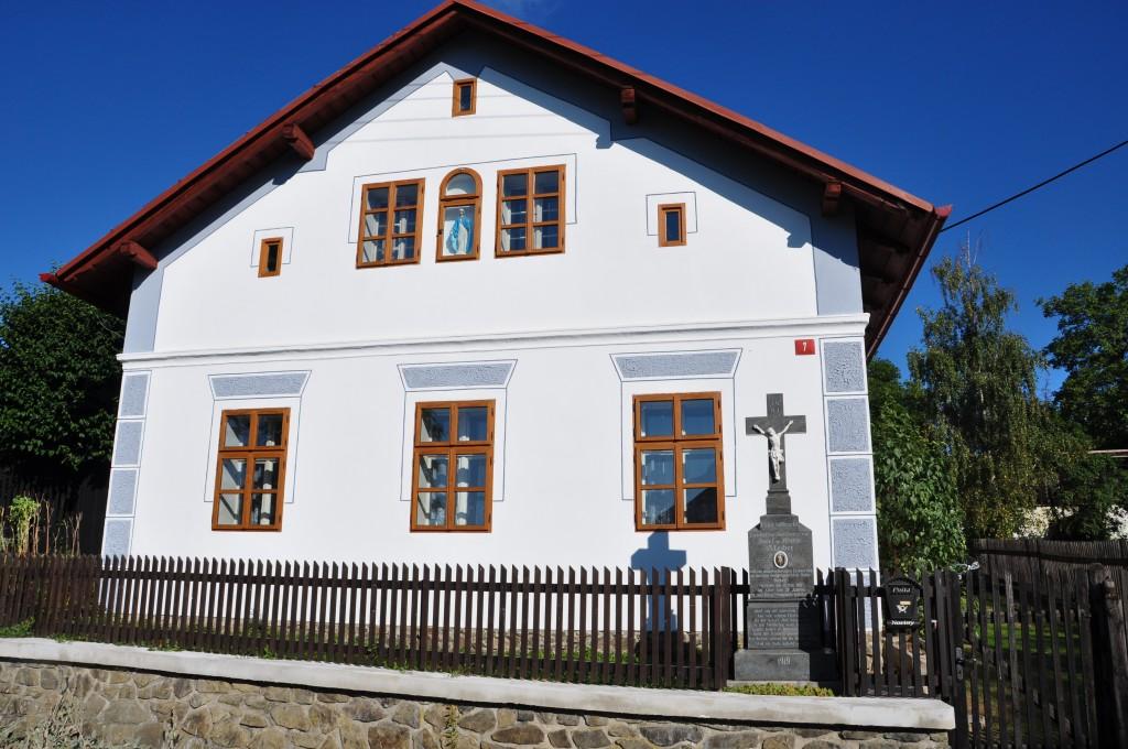 Původní chalupa ve vesničce Piškořov