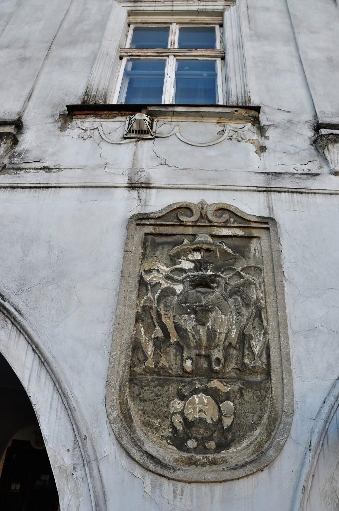 Ditrichštejnův dům obýval nejen kardinál Ditrichštejn, ale zřejmě zde přebývala také polská královna Anna Habsburská.
