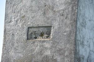 Datum stavby Božích muk u Bílova. 1549, to zní dobře...