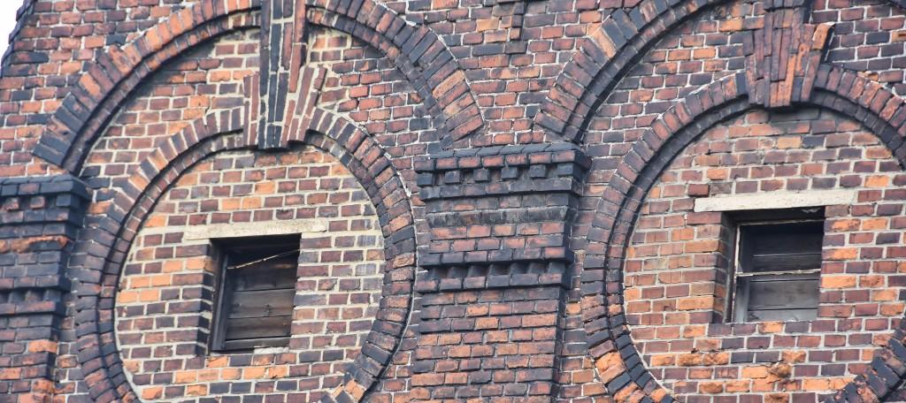 detail budovy bývalých jatek.