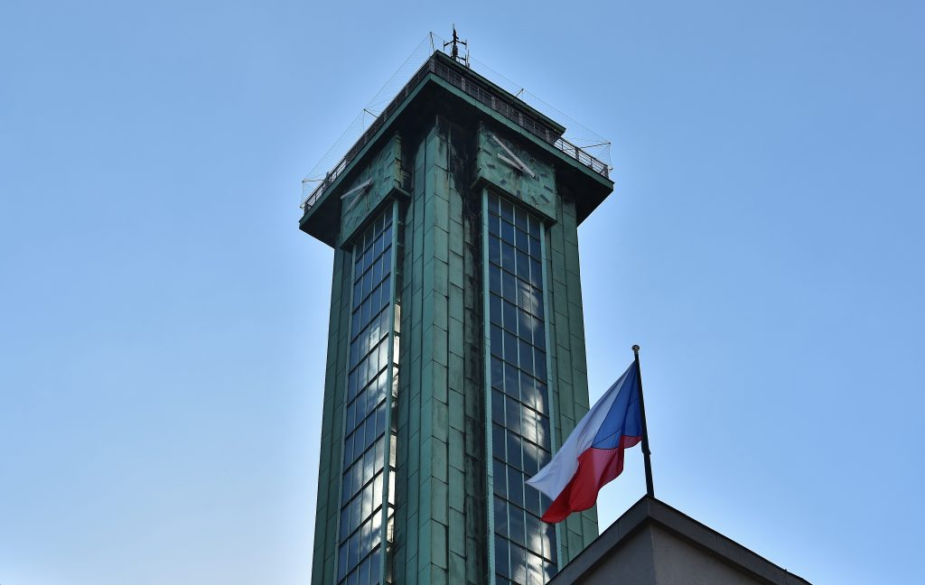 Průsvitná ostravská radnice.