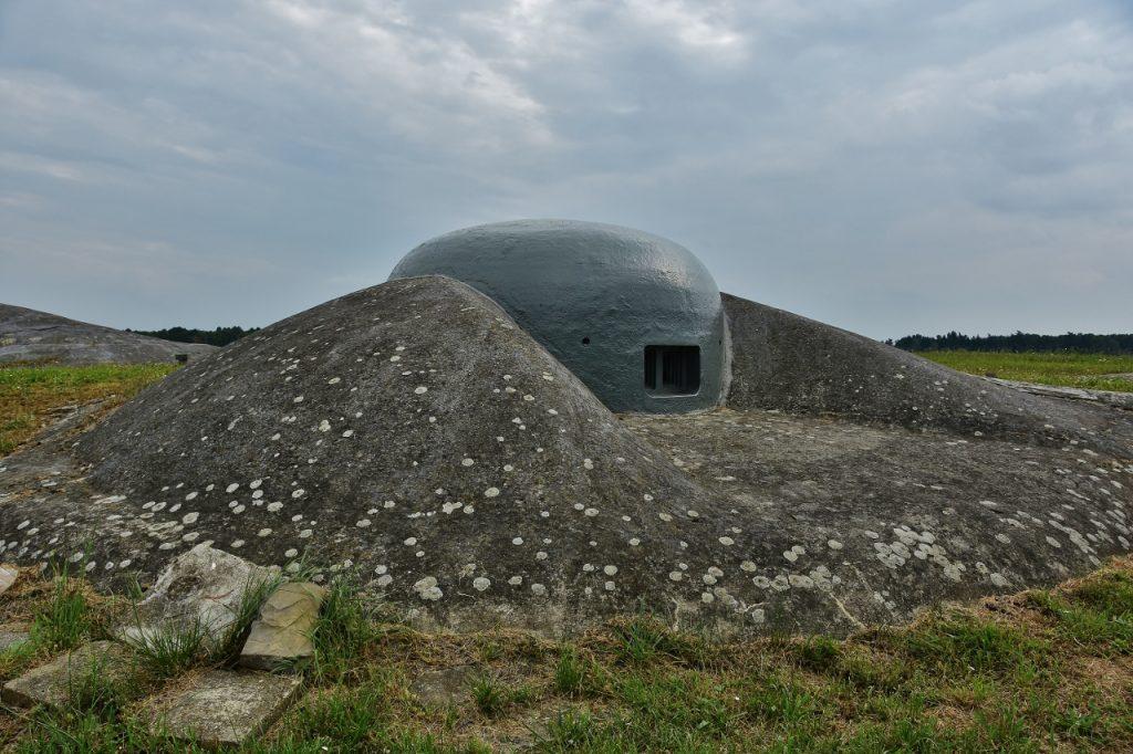 Jako rejnok vypadá pevnost v Darkovičkách.
