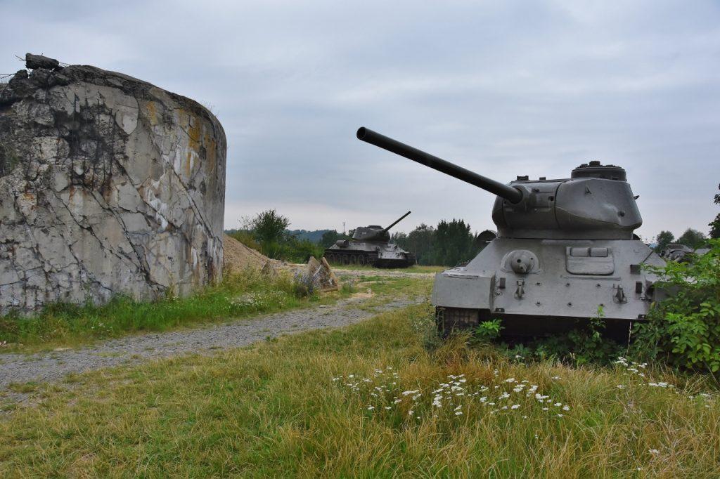 Jedna z pevností u Darkoviček.
