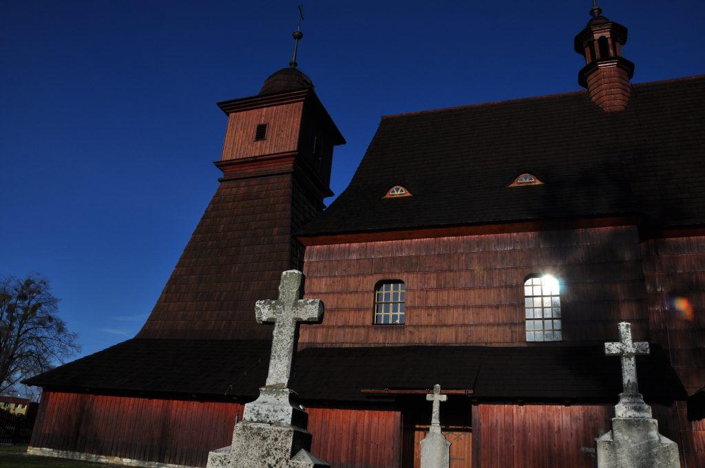 I hrabovský kostelík jsem našel tam, jako vždycky.