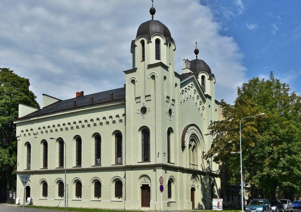 Krnovská synagoga.