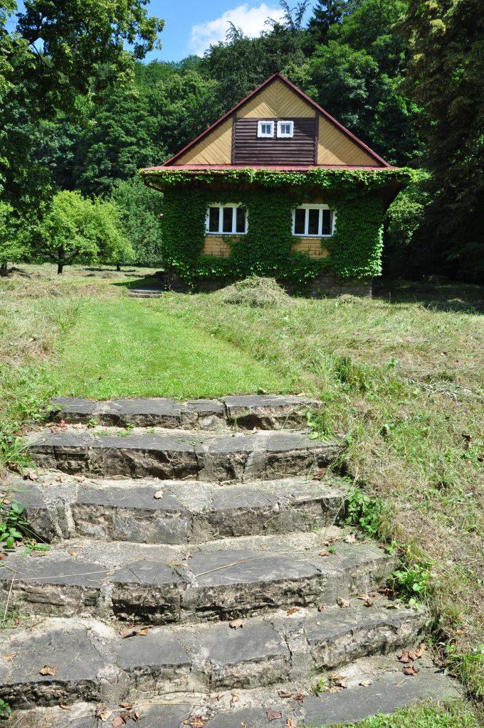 V tomto domě na Ostravici žil Petr Bezruč.
