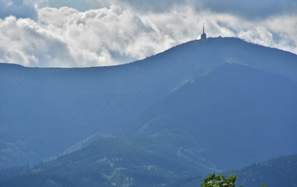 Lysá hora z Ondřejníku.