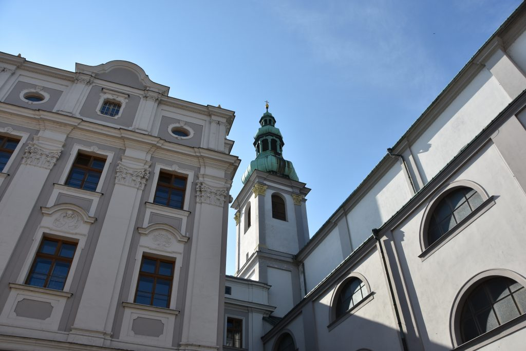 Gymnázium, kde studoval Johann Gregor Mendel.