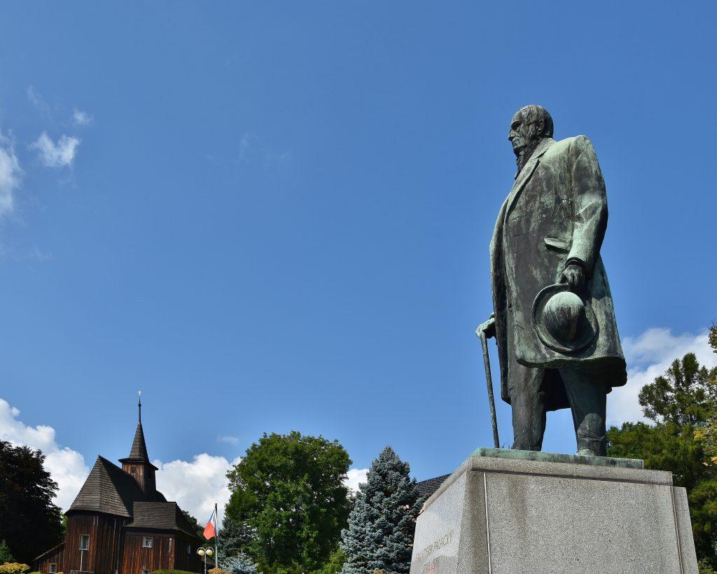 František Palacký se narodil v Hodslavicích, vesnici nedaleko Nového Jičína.