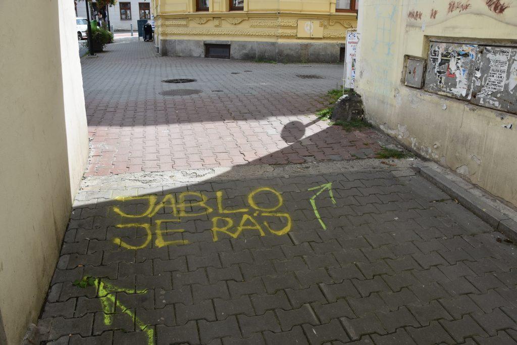 Jablo je ráj - a Jablunkovští mají své město zjevně rádi.