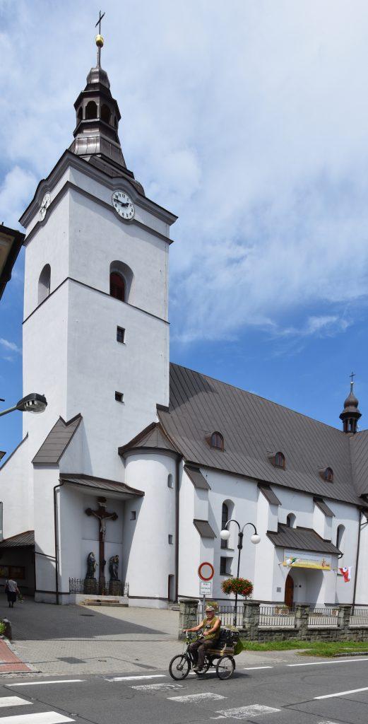 Kostel Božího těla stával v centru Jablunkova už od roku 1605!